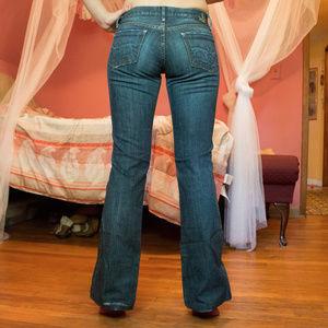 Goldsign Passion Dark Blue Bootcut Jeans Sz 25